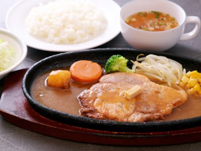 遠州黒豚ステーキ
